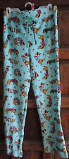 Dachshund Wiener Dog Winter Lounge Pants Pajama Bottom LARGE 12-14 NEW w/Tag