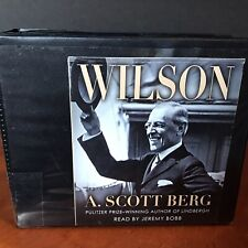 Wilson Audio Book CD Set A Scott Berg President Woodrow Biography 26 Discs