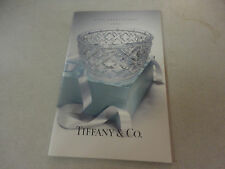 Amazing 1997 Tiffany & Co. Gift Selections Catalog with Prices 51 Pages!