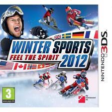 Nintendo 3DS Winter Sports Feel the Spirit 2012 todo Español Game multi Language