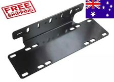 Universal Number Plate Holder Mounting Licence Plate Bracket for LED Light bar