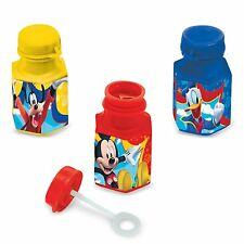 12 Disney Mickey Mouse Childrens Birthday Party Favor Treat Bubbles
