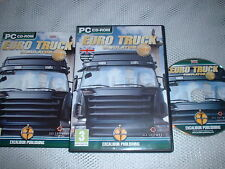 EURO TRUCK SIMULATOR GOLD ~ PC GAME PC CD-ROM INCLUDES UK ROUTES & CITIES