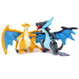 "9""Charizard Pokemon Plush Dolls Toys Stuffed Animals Flying Dragon Fire"