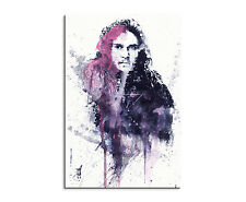 90x60cm PAUL SINUS Splash Art Gemälde Kunstbild Game_of_Thrones_Jon_Snow