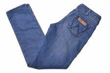 WRANGLER Womens Jeans W28 L28 Blue Cotton Slim Molly MC07