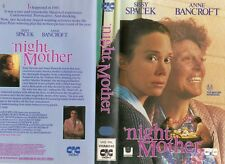 'NIGHT, MOTHER - Sissy Spacek  VHS -PAL -NEW -Never played! -Original Oz release