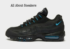 """Nike Air Max 95 """"Negro Azul"""" Hombre Zapatillas Limited Stock Todos Los Tamaños"""