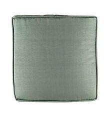 micasa MIGROS Sitzkissen für Bank, 3er Set,  grau, 40 x 40 x 4,5 cm, S 0032