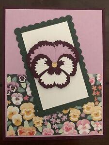 Stampin' Up Pansy Card Kit