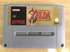 Legend of Zelda Link to the Past Super Nintendo SNES