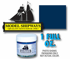 Model Shipways 1oz. Bottle - Dark Blue Paint for Wood Models & Historic Ships