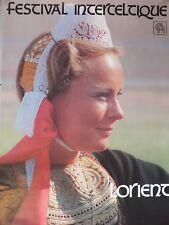 § Affiche festival Interceltique de Lorient 1984 - Bretagne, Folklore §