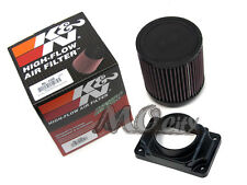 MAF Mass Air Flow Sensor Adapter + K&N Filter Kit for Mitsubishi 92-05 Montero