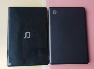 Lot of 2 HP G62-415NR/COMPAQ PRESARIO CQ61 0GB RAM 0GB HDD PART or REPAIRS