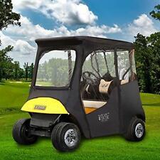 2 Passenger Deluxe Golf Cart Driving Enclosures for EZGO TXT, Waterproof