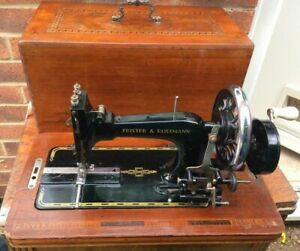 Pfaff Family Vintage Handcrank Sewing Machine