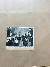 H1-1 ephemera 1967 picture the fettlers folk group record release