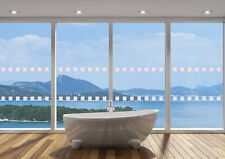 SQUARES 49mm x 50m GLASS WINDOW SAFETY DOTS MANIFESTATIONS