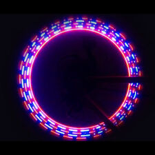 Bike Bicycle Cycling Wheel Tire Valve Cap Spoke Neon Light 5 LED Lamp 32 changes