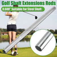 1-5Pcs Steel Shaft Extender Extension Rods Stick For 0.580 0.600 Steel Golf   Q