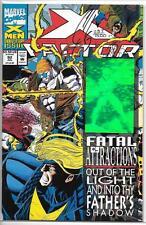 X-Factor # 92 NM Hologram Cover Signed By Joe Quesada COA 1137/7500