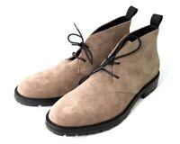 $150 Calvin Klein Ultan Calf Leather Suede Chukka Boot Army Fatigue 9.5M US