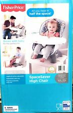 Fisher Price Baby Infant Toddler Spacesaver Adjustable High Chair Luminosity