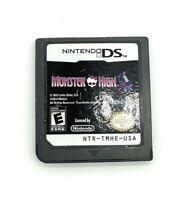 Monster High: Skulltimate Roller Maze Nintendo DS/DSi Game Tested Works