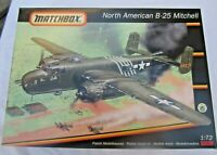 * matchbox modellflugzeug bausatz north american B-25 mitchell in ovp 1:72