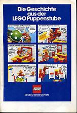 Lego-- Die Geschichte aus der Lego Puppenstube -Werbung von 1974