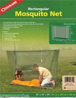 DOUBLE WIDE MOSQUITO NET TENT, 240 ULTRA FINE MESH,  2 COTS/SLEEPING BAGS