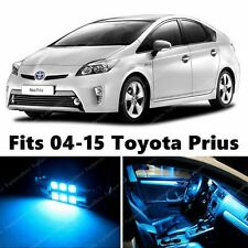 11 x Premium ICE BLUE LED Lights Interior Package Kit for Toyota Prius 2004-2015