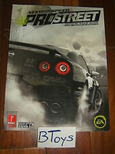 Need for Speed Pro Street Official Strategy Guide PS3 360 PC Wii PS2 Prima Games