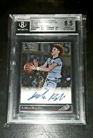 2018 Leaf Ultimate LAMELO BALL '92 Black Gold Rookie XRC AUTO BGS 8.5! ROY 🔥📈