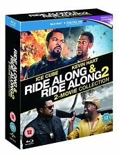 Ride Along 1 + 2 Double Pack (Blu-ray, 2 Discs, Region Free) *NEW/SEALED*