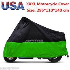 XXXL Motorcycle Storage Rain Dust Cover For Harley Davidson Street Glide Touring