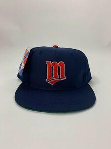 Vintage 1990s MLB Minnesota Twins Snapback Hat NWT Pro Youth by Ed West