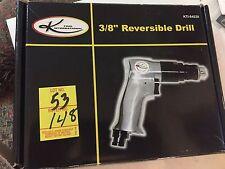 "K TOOL INTERNATIONAL KTI-84228 3/8"" REVERSIBLE DRILL 2000RPM 4CFM"