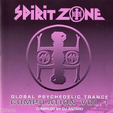 Global Psychedelic Trance Compilation Vol. 1 - CD - SPIRIT ZONE - GOA TRANCE