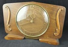 Oak Art Deco Antique Clocks with Chimes