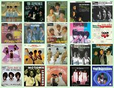 THE SUPREMES RECORD ALBUMS,  20 PHOTO FRIDGE MAGNETS