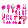 1 set Girls Fashion Hair Styling Dolls Head Play Set Kids Childs Toy Beauty Gift