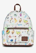 Pixar Loungefly Mini Backpack Disney 25th Anniversary NEW
