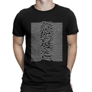 Joy Division Unknown Pleasures T-Shirt, Rock Band Tee, Men's All Sizes