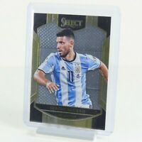 Sergio Aguero Panini Select 2016-2017 Card #19 Argentina Manchester City