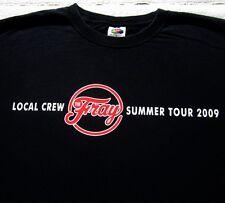 THE FRAY Local Concert Crew! summer 2009 tour XL T-SHIRT