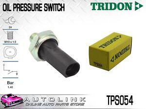 TRIDON OIL PRESSURE SWITCH FOR SKODA OCTAVIA 4CYL 2007 - 2010 TPS054