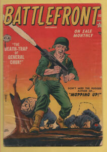 Battlefront #4 September 1952, Marvel, 1952 Series VG-