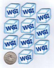 Baseball or Softball Iron On Patches - WGI ('We Got Ice') - 10-pack